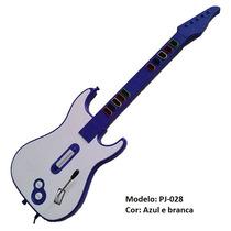 Guitarra Ps3 Ps2 Pc 3 Em 1 Pj-028 Preto - Tecnoshow