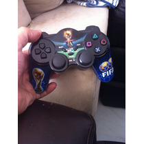 Controle Joistick Sem Fio Ps3 Sony Fifa World Cup Dualshock