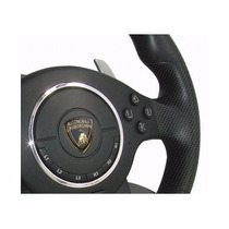 Volante Ps2/ps3/pc Atomic Lamborghini Super Sport Novo