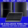 Hd 320gb Uso Exclusivo Ps3 Play3 Playstation Com Manual