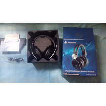 Headset Wireless Ps3 Ps4 Stereo Sony 7.1 Pulse Elite Edition