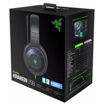 Headset Razer Kraken Usb 7.1 Surround Sound Pc Mac Ps4