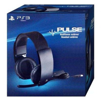 Headset Sony Pulse 7.1 C/fio Ps3 Ps4 Pc Sound Stereo Virtual