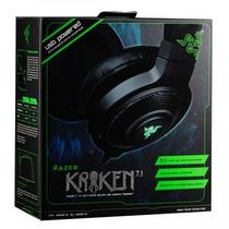 Headset Razer Kraken 7.1 Expert Som Surround Usb Pc Mac Ps4