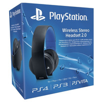 Fone Wireless Stereo Headset 2.0 Ps3 Ps4 Ps Vita Original