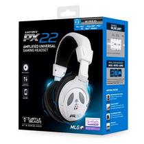 Headset Px22 Branco Fone Turtle Beach Ps3 Ps4 Xbox Pc Mac