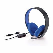 Headset 7.1 Original Sony P/ Ps3 Ps4 Ps Vita Pc Com Fio Novo
