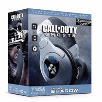 Headset Call Of Duty Ghosts Ear Force Shadow Ps3 Xbox Fone