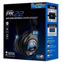 Fone Headset Com Fio Turtle Beach Ear Force Px22 Xbox Ps3 Pc
