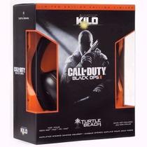 Headset Turtle Beach Kilo Do Jogo Call Of Duty Black Ops 2