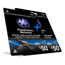 Playstation Network Card - Cartão Psn Card $ 100 - 2x 50$
