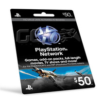 Playstation Network Card Cartão Psn $50 - Preço Imbatível !!