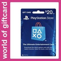 Cartão De Presente Playstation Store $ 20 Us Por Email