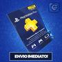 Cartão Psn - Playstation Network Plus 12 Meses - Imbatível!!