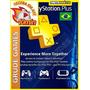Cartão Psn Plus 12 Meses Brasileira - Cartão Psn Plus Brasil