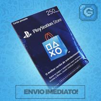 Cartão Psn Brasileira Brasil R$ 250 Reais - Preço Imbatível