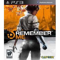 Remember Me Ps3 Legendado Pt-br - Cód Psn Envio Via Email