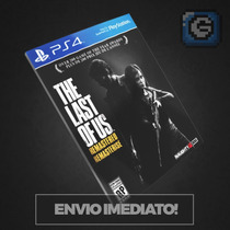 The Last Of Us Remastered Ps4 - Código 12 Digitos - Original