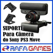 Suporte Clip Para Câmera Move Ps3 Tv Lcd Led - Frete R$10,00