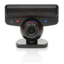 Webcam Sony Playstation Eye Camera Para Ps3 + Suporte + Jogo