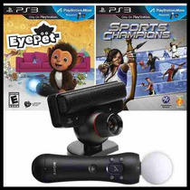 Kit Move Completo + Eyepet / Sports Champions