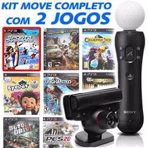 Kit Move Completo + Navigator + 2 Jogos Ori... E-sedex 6,07