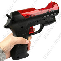 Pistola Arma Ps Move Ps3 Playstation 3 Tiro Fire