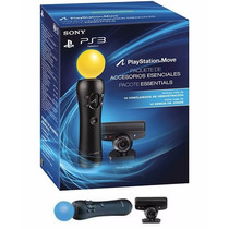 Playstation Move Ps3 Kit Completo + 2 Jogos, Pronta Entrega!
