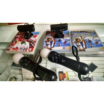 Ps Move , Original, Playstation + Jogo + Garantia!! + Entreg