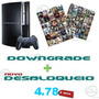 Downgrade Novo Desbloqueio 4.78 Lancamentos +psn Online!