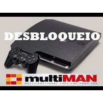 Downgrade De Playstation 3 Desbloqueio Verifique Nas Imagens