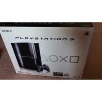 Video Game Playstation 3 Fat Novo Lacrado De Fábrica