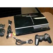 Sony Playstation 3 80 Gb Console Preto Piano (cech-l01)