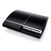 Playstation 3 Fat Hd De 320gb + Controle-4jogos-travado