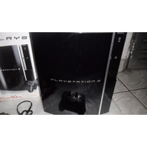 Playstation 3 Destravado 80gb (veja Video) Valor Negociavel!