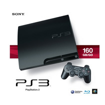 Playstation 3 160gb - 2 Jogos E Kit Playstation Move!