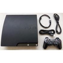 Play 3 Slim 160gb + Controle Original + Cabo Hdmi + Garantia
