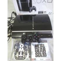 Playstation 3 Barato 1manete 2jogos-intacto-preço Negociável