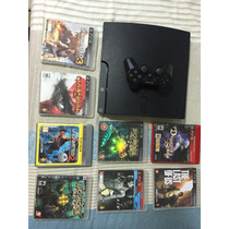 Playstation 3 (ps3) 160gb + 10 Jogos + 1 Controle