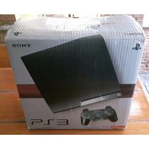 Playstation 3 Slim Com 250gb - Na Caixa - Cech-2011b