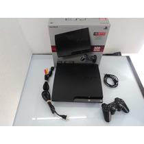 Playstation 3 Slim 320 Destravado + 15 Brindes