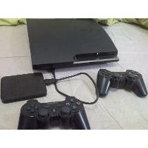 Playstaton 3 - 4.75 Desbloqueado Hd Com 90 Jogos 2 Controles