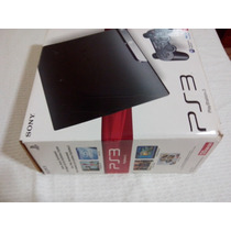 Sony Ps3 120gb + Psmove + Controles + Carregador + 18 Jogos