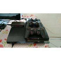 Playstation 3 Desbloqueado Hd 1 Tera 3controles