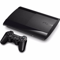 Playstation 3 Ps3 Super Slim 12 Gb Com Manete, Nf E Original