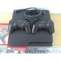 Playstation 3 250 Gb 15 Jogos Original Escolha Sedex Grátis