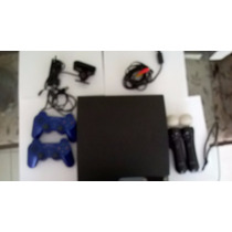 Playstation 3 [usado] 2 Controles E Ps3 Movie Bundle