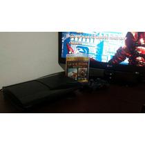 Playstation 3 Ps3 Superslim 250g Seminovo Bivolt 3d Blu-ray