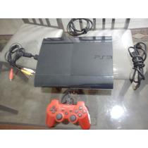 Playstation 3 Com 12 Jogos + 1 Controle + Cabo Hdmi
