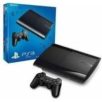 Playstation 3 Ps3 Super Slim 500gb + Cabo Hdmi + 3 Jogos 12x